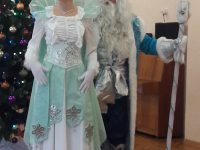 Дед Мороз и Снежная Королева