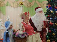 Снегурочка, Солоха, дед Мороз в красном
