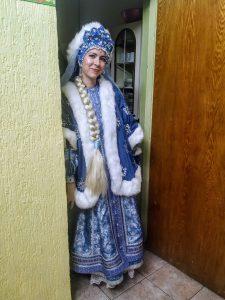 Самая настоящая Снегурочка, Оксана Владимировна